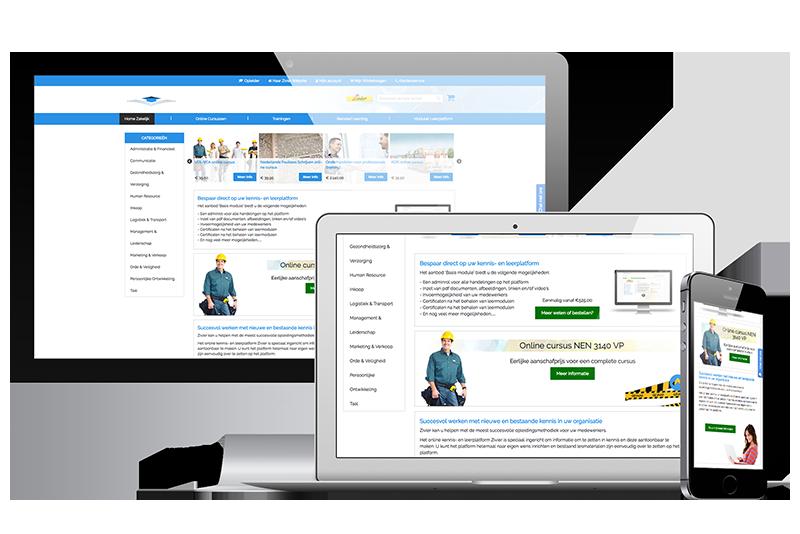 UniTracer webshopbouw