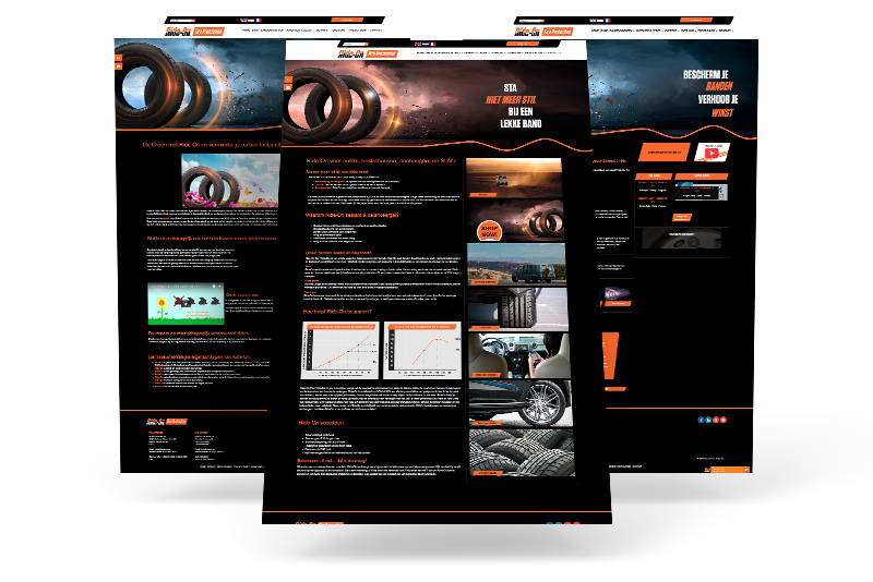UniTracer website bouw